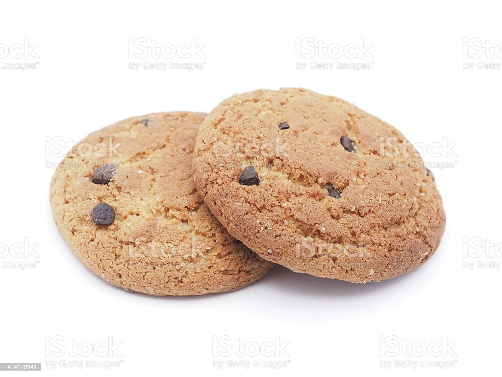 cookies on a white background royalty-free stock photo