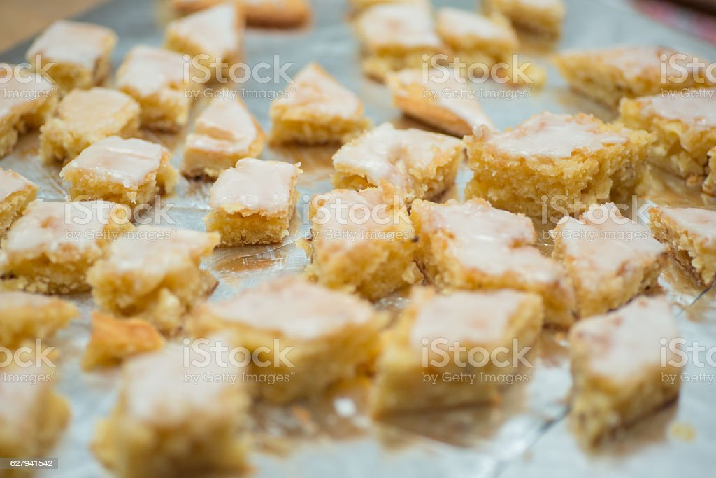 cookies on buffet stock photo