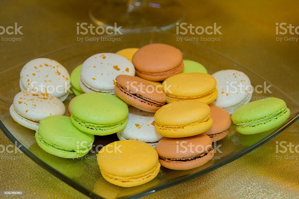 Cookies on the table stock photo