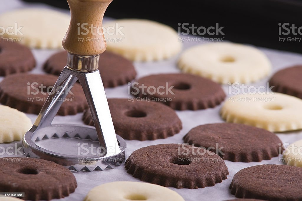 Cookies. stock photo