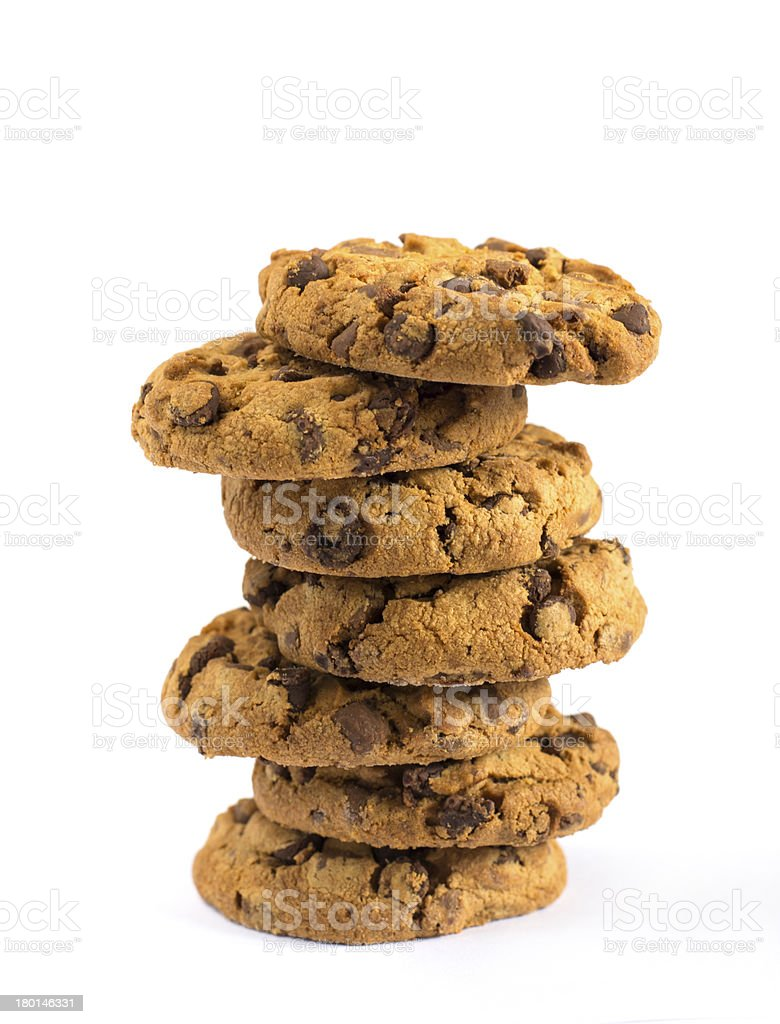Cookies Stacked royalty-free stock photo