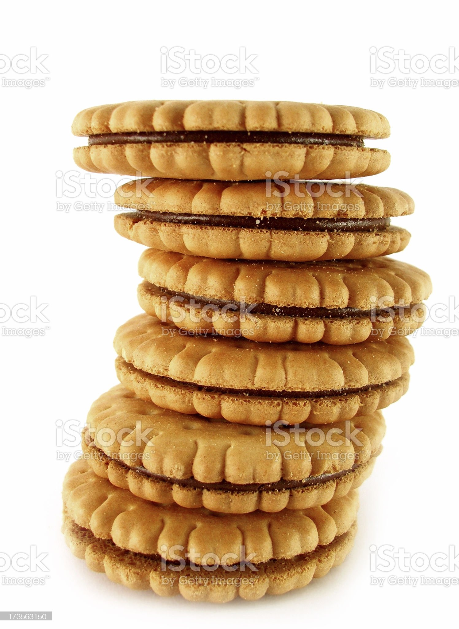 Cookies Tower royalty-free stock photo