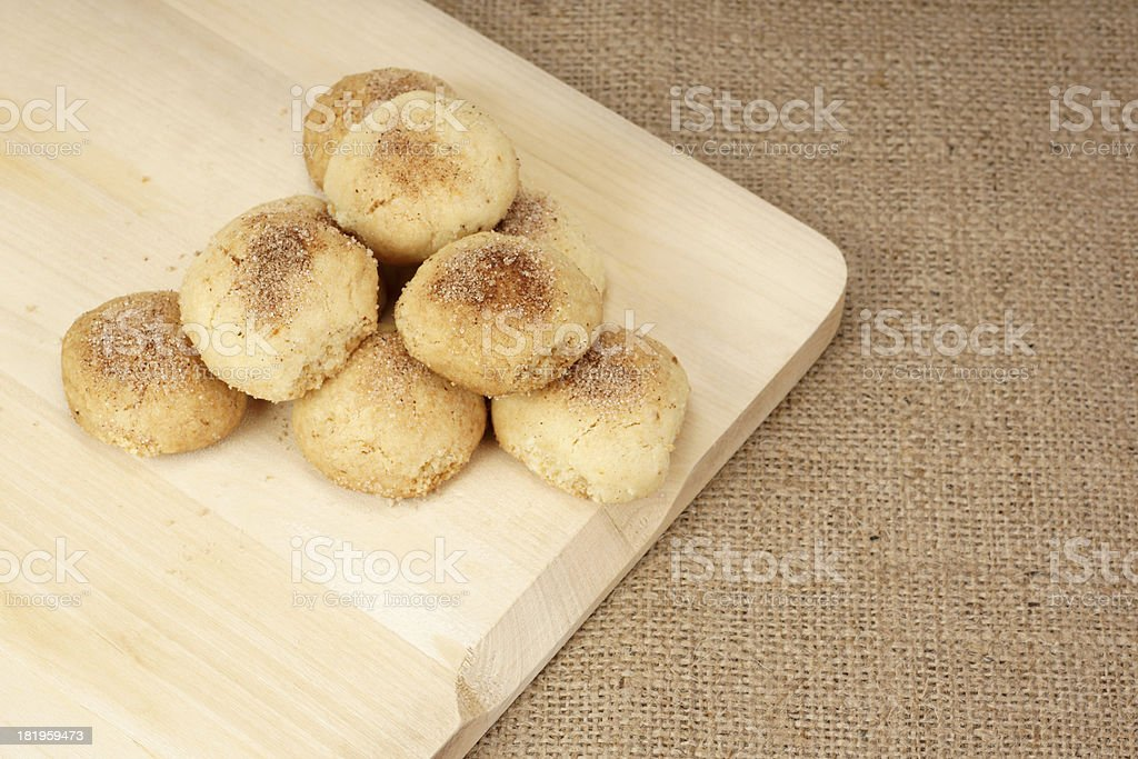 Cookies with Cinnamon royalty-free stock photo