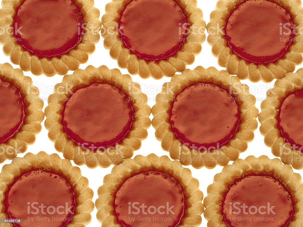 Cookies with marmalade royalty-free stock photo