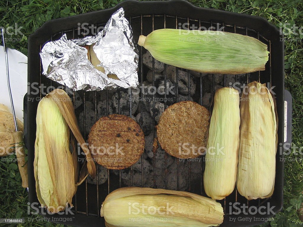 Cookin' Out 3 royalty-free stock photo