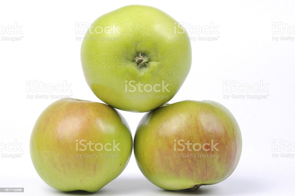Cooking Apples. stock photo