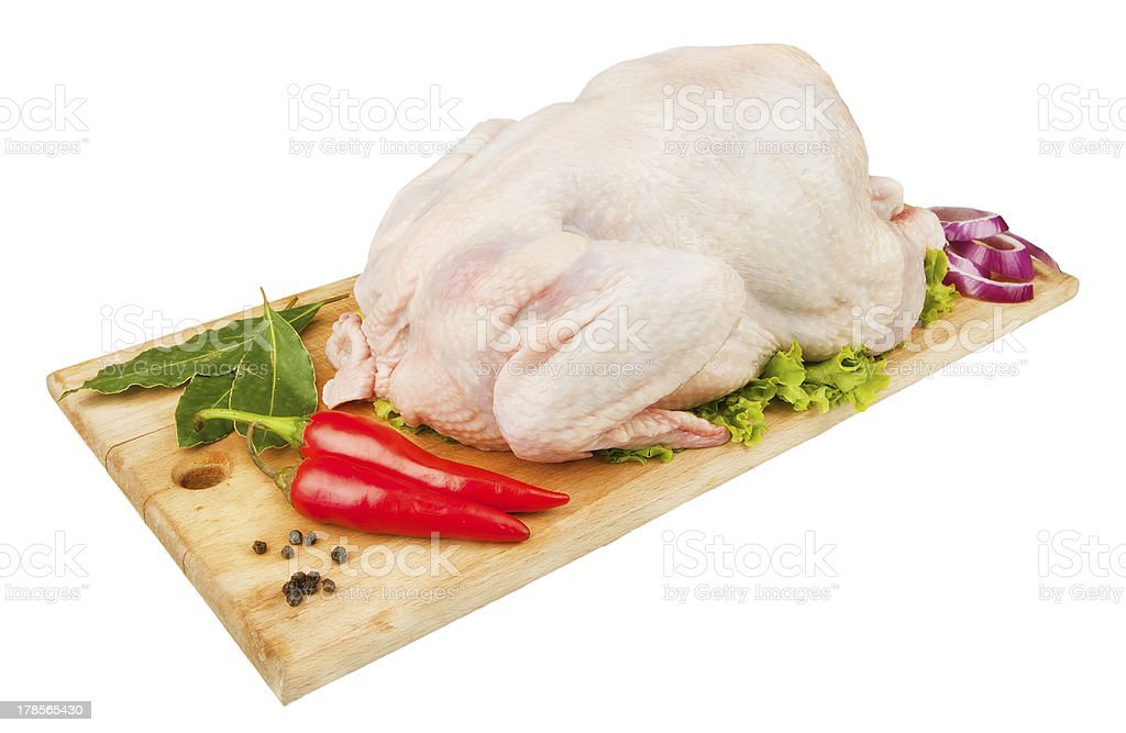 cooking chicken royalty-free stock photo
