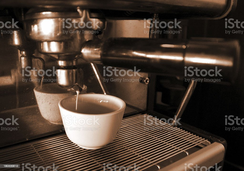 Cooking coffee royalty-free stock photo