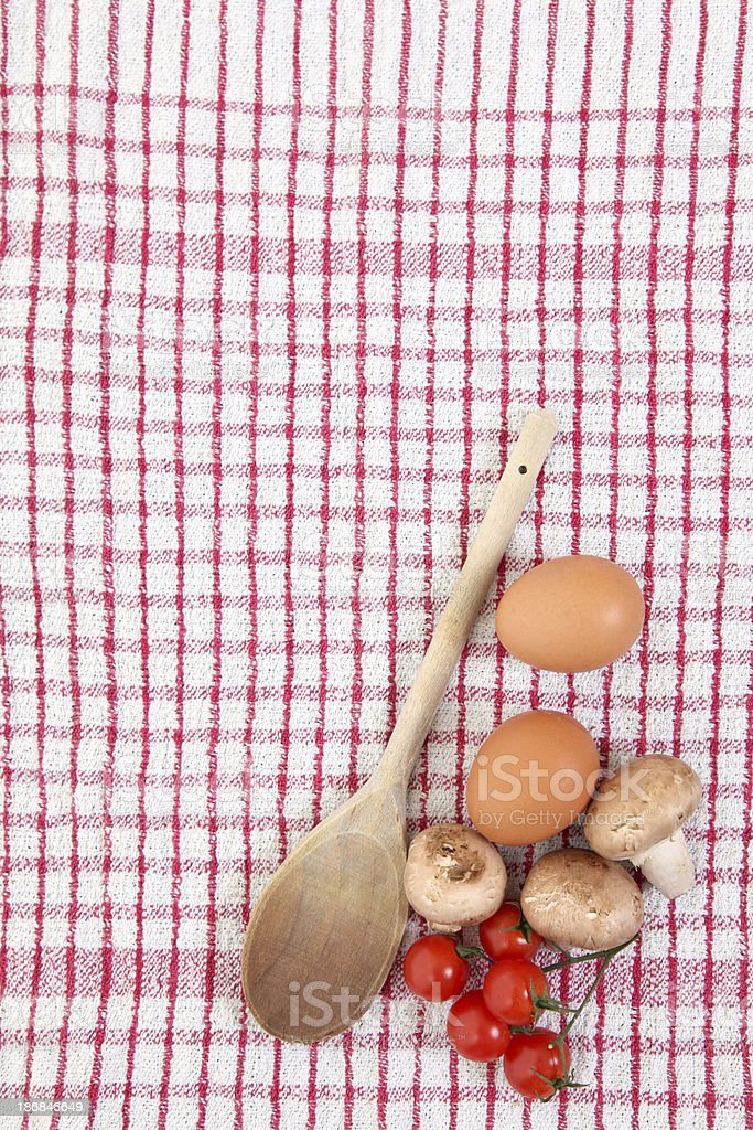 Cooking ingredients royalty-free stock photo