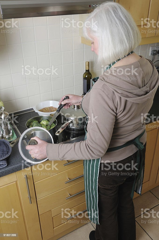 Cooking. stock photo