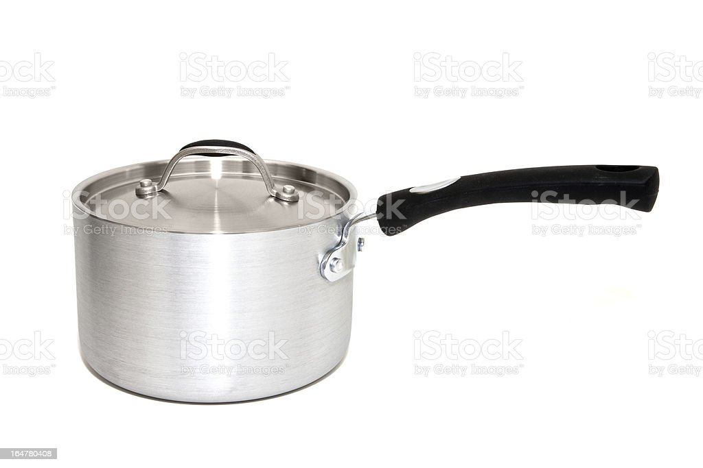 Cooking Pot with Lid royalty-free stock photo