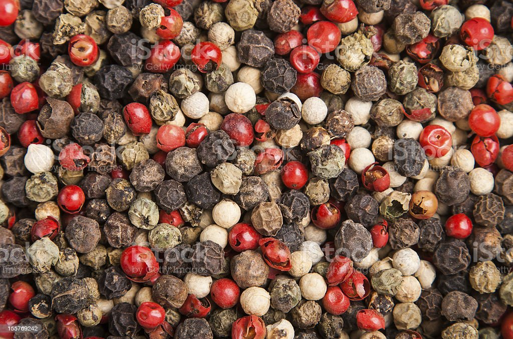 cooking spice variation dry small peppercorn royalty-free stock photo