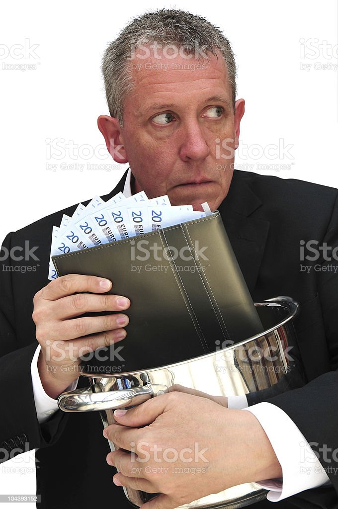cooking the books royalty-free stock photo