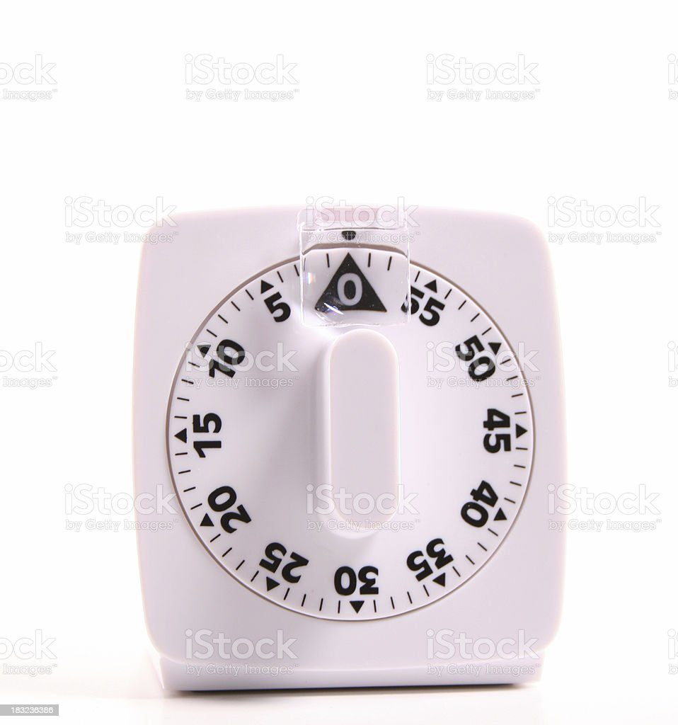 cooking timer royalty-free stock photo