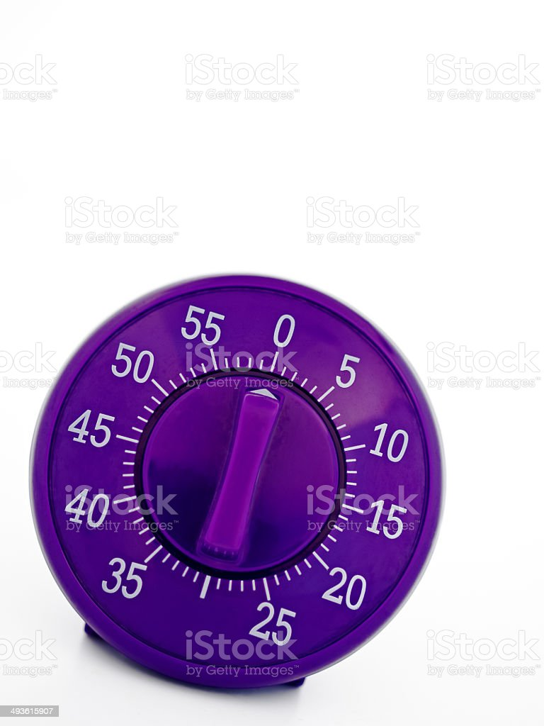 cooking timer stock photo