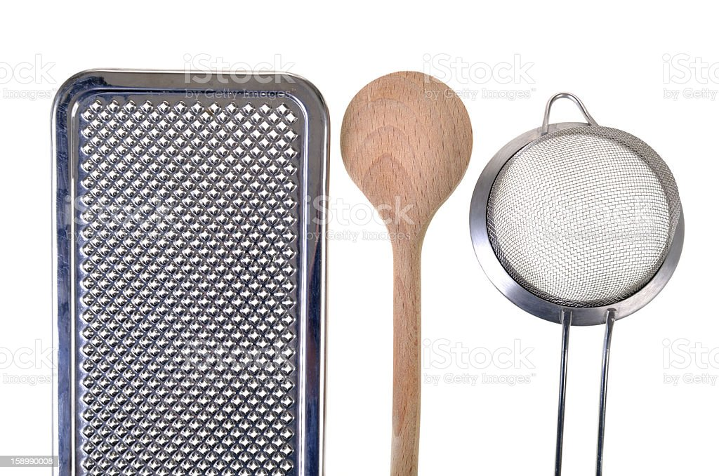 Cooking untensils royalty-free stock photo
