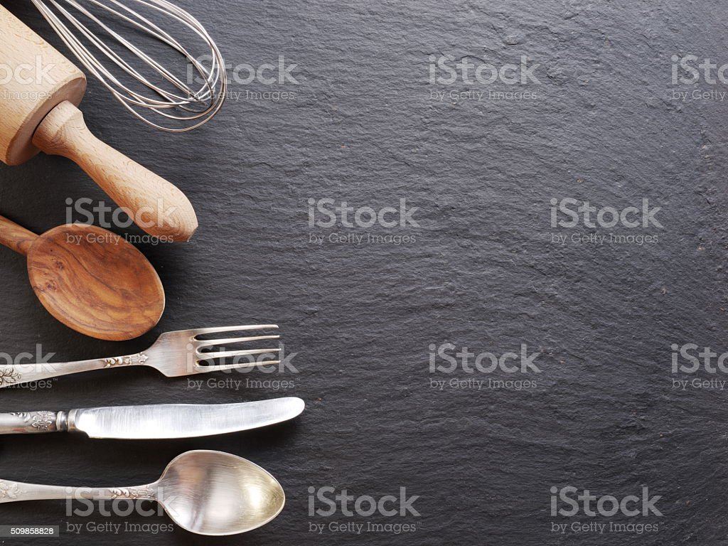 Cooking utensils. stock photo