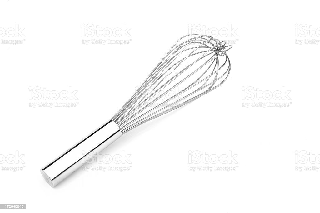 Cooking- Whisk royalty-free stock photo