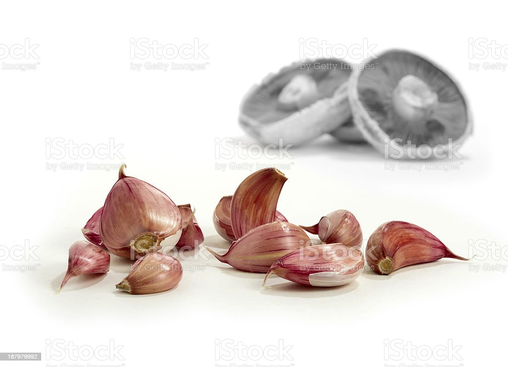 Cooking With Garlic 4 stock photo