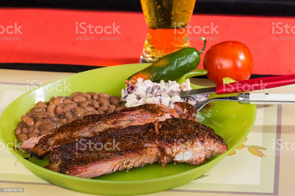 BBQ Cookout Dinner stock photo