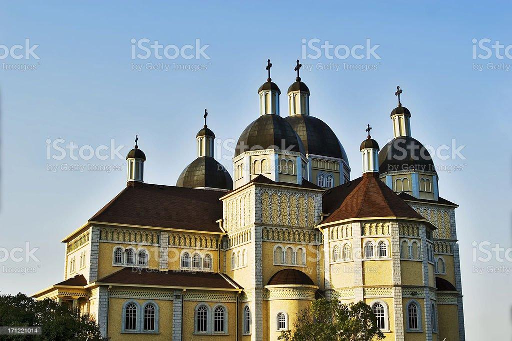 Cook's Creek Ukrainian Catholic Church, Manitoba. royalty-free stock photo