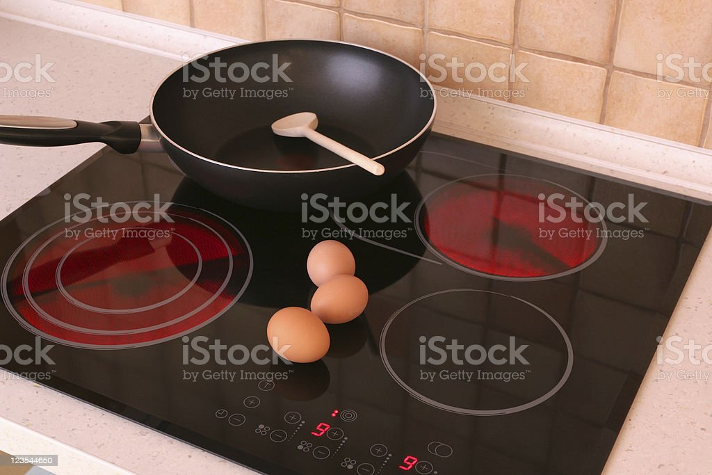 Cooktop stock photo