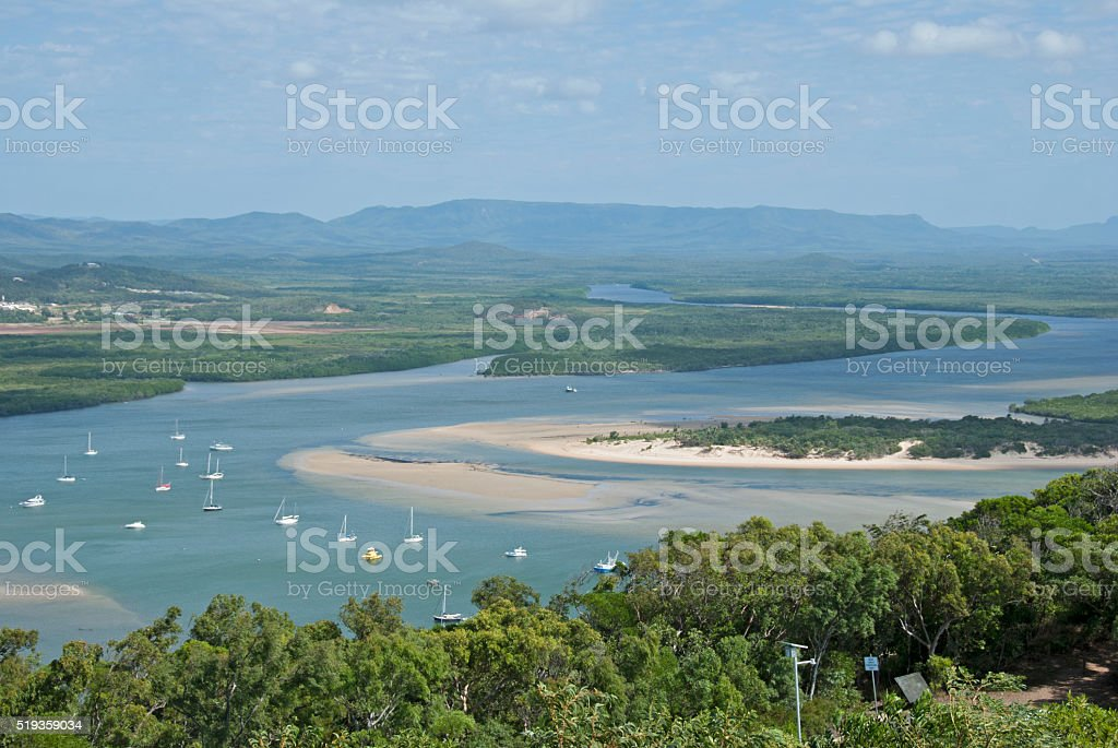 Cooktown stock photo