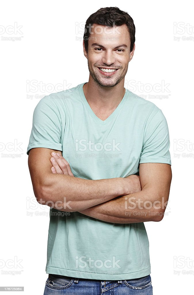 Cool and casual royalty-free stock photo