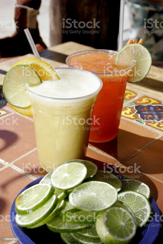 Cool and Colorful Drinks2 stock photo