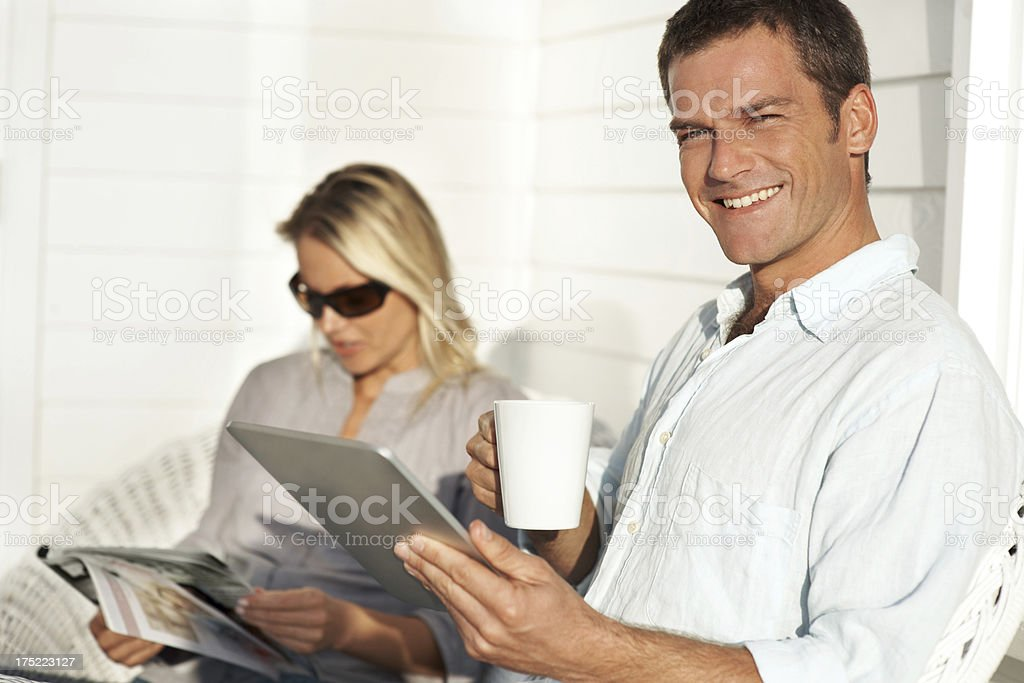 Cool and connected royalty-free stock photo
