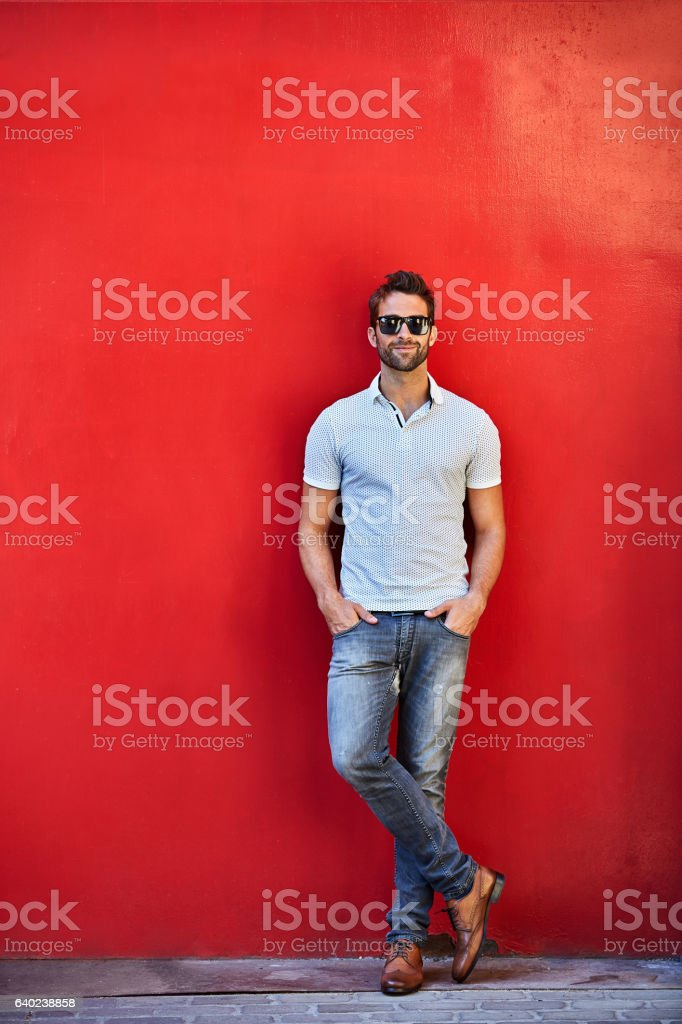 Cool and stylin'! stock photo