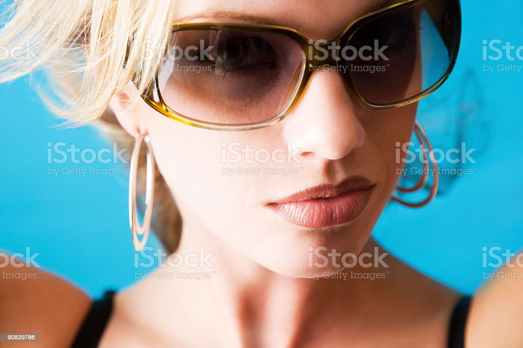 Cool Beauty royalty-free stock photo