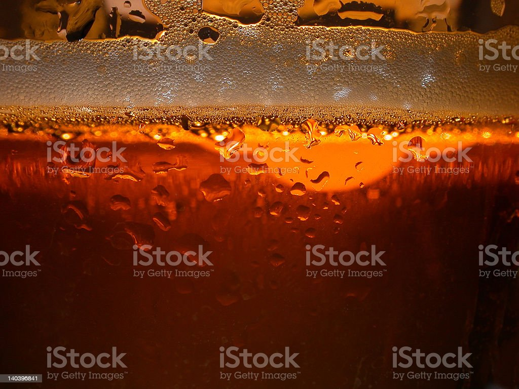 cool beer glass royalty-free stock photo