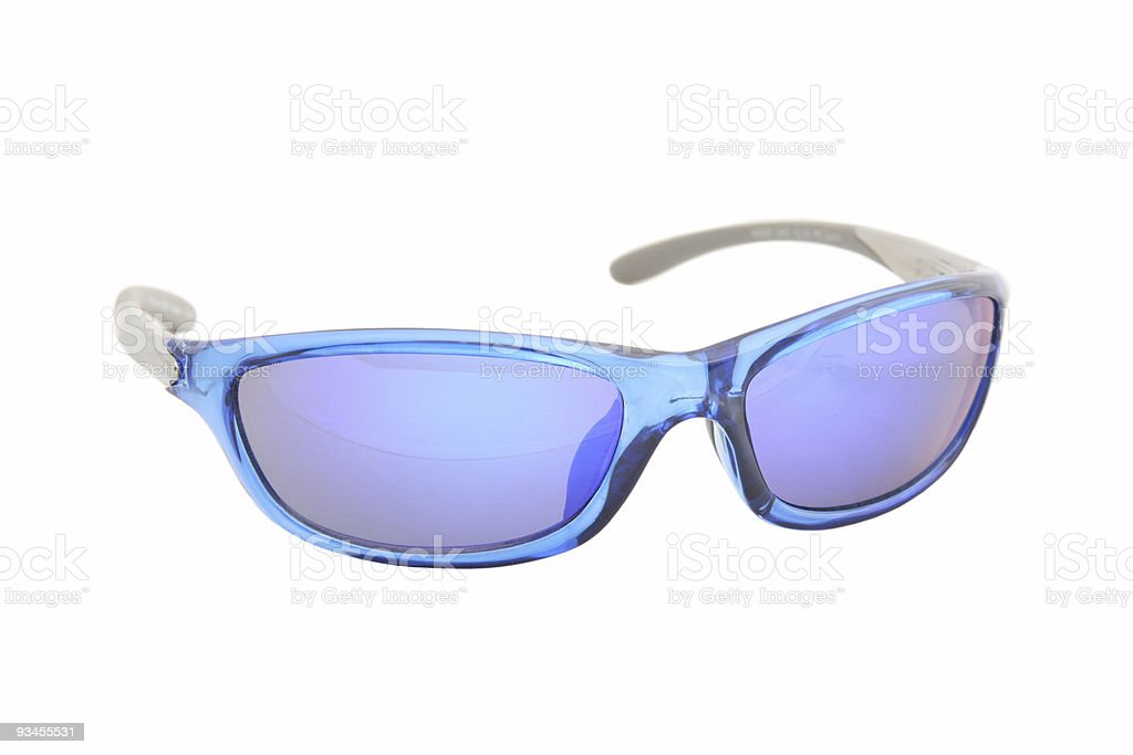 Cool Blue Shades royalty-free stock photo