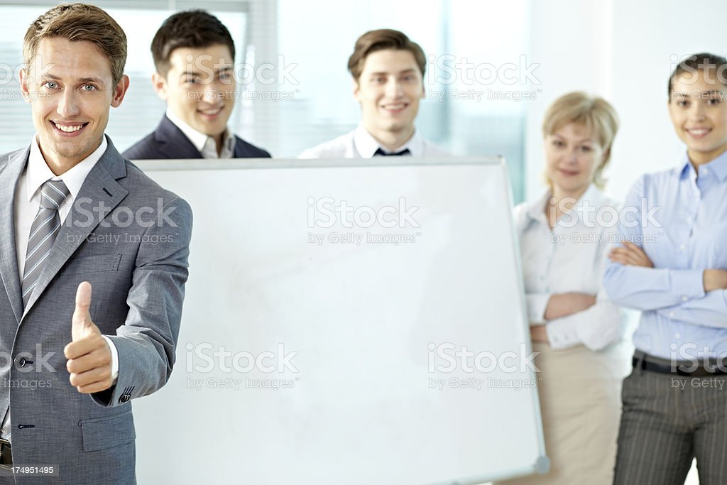 Cool business royalty-free stock photo