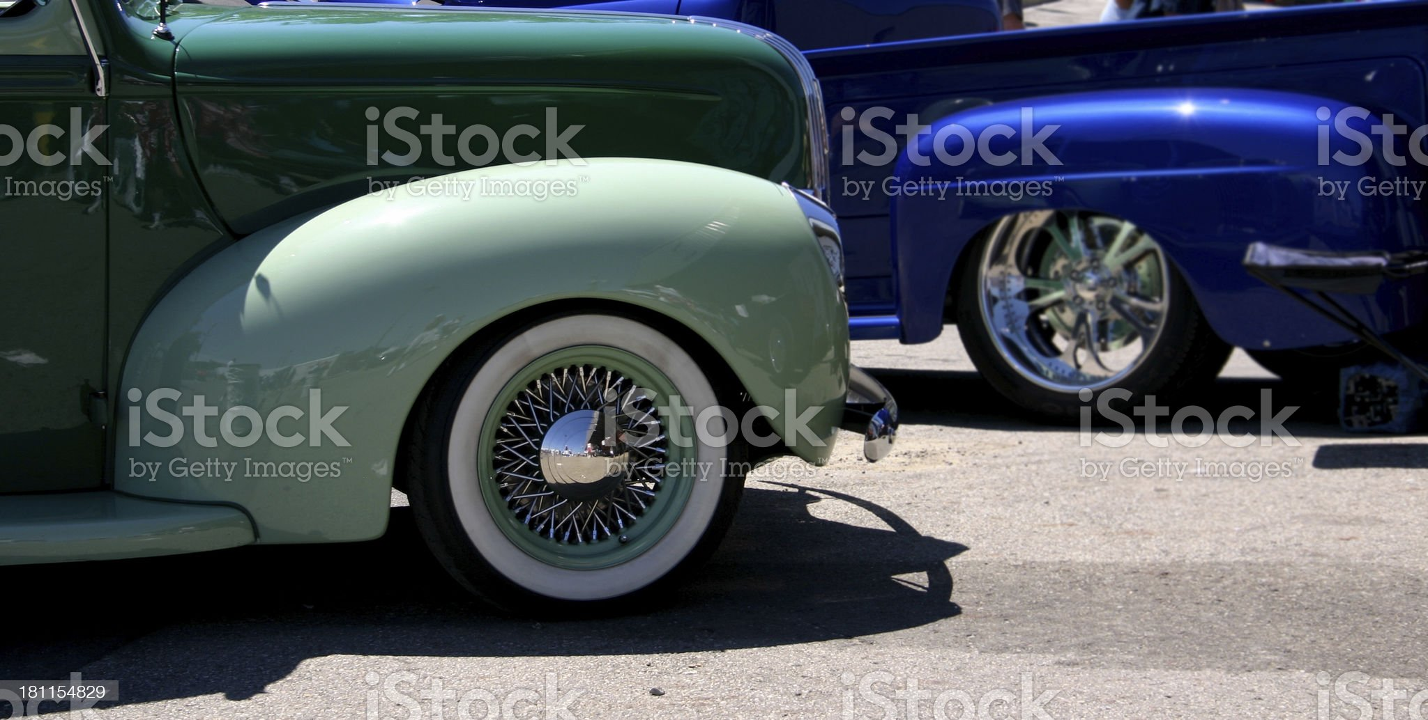 Cool Cars royalty-free stock photo