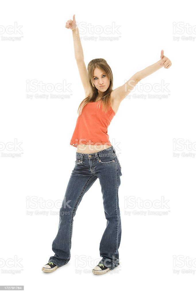 Cool Casual Teen royalty-free stock photo