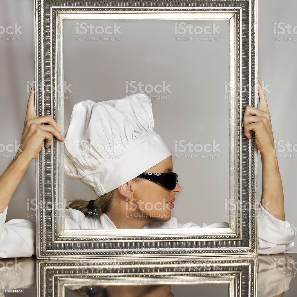 cool chef royalty-free stock photo