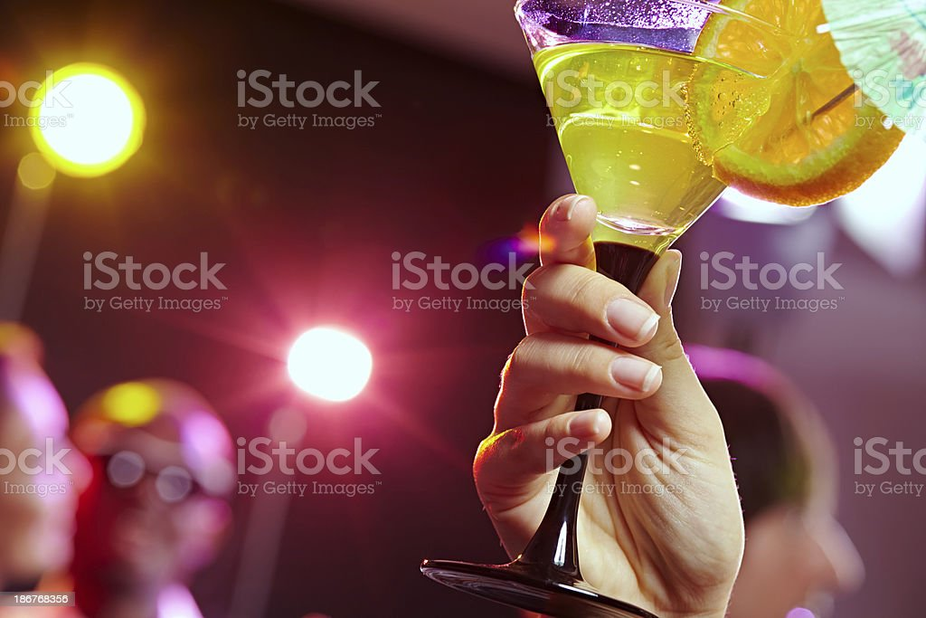 Cool cocktail royalty-free stock photo