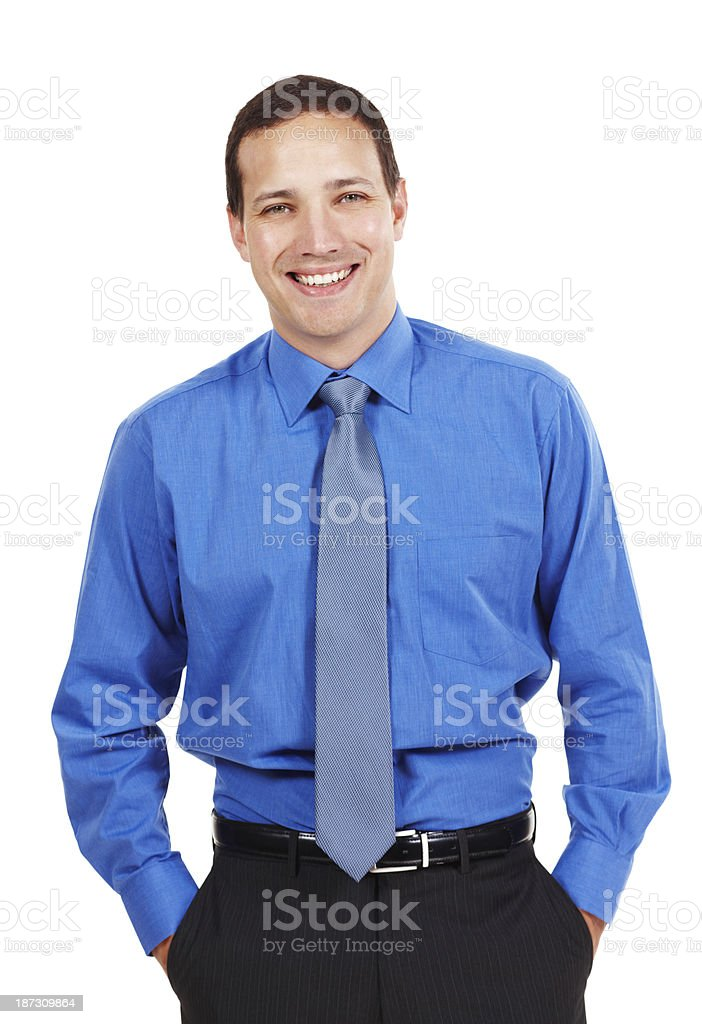 Cool confidence royalty-free stock photo