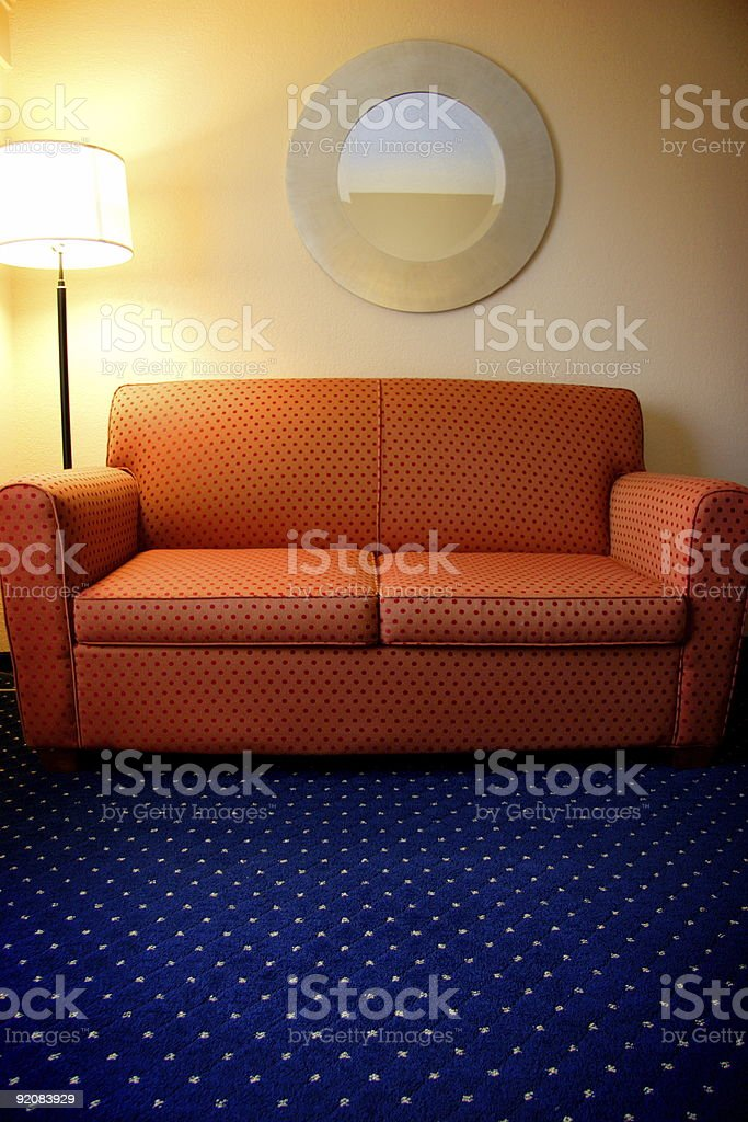 cool couch royalty-free stock photo