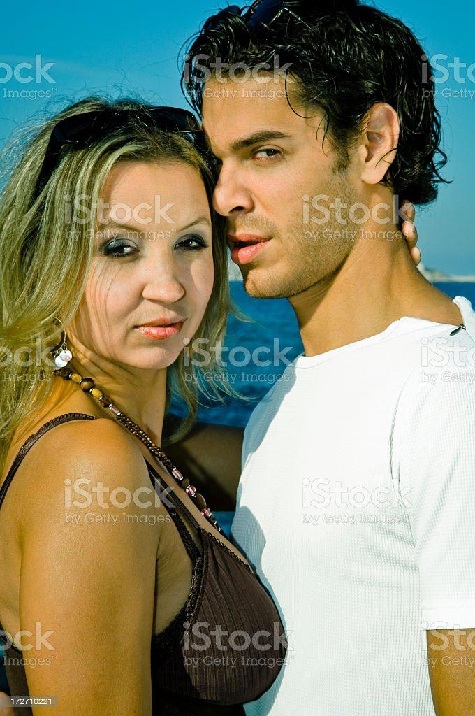 Cool Couple stock photo