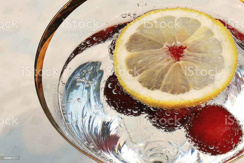 Cool drink in canicular days stock photo