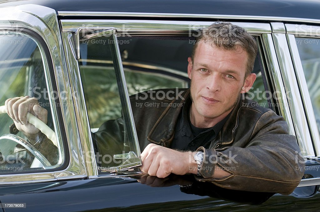 cool driver royalty-free stock photo