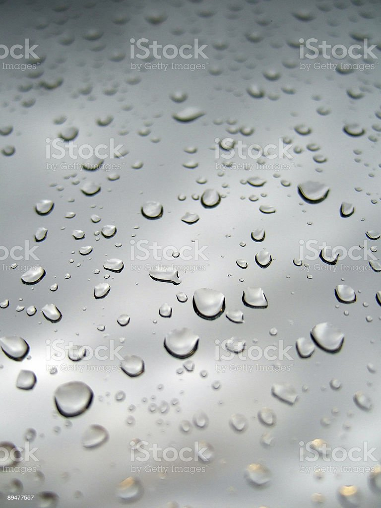 cool drops royalty-free stock photo