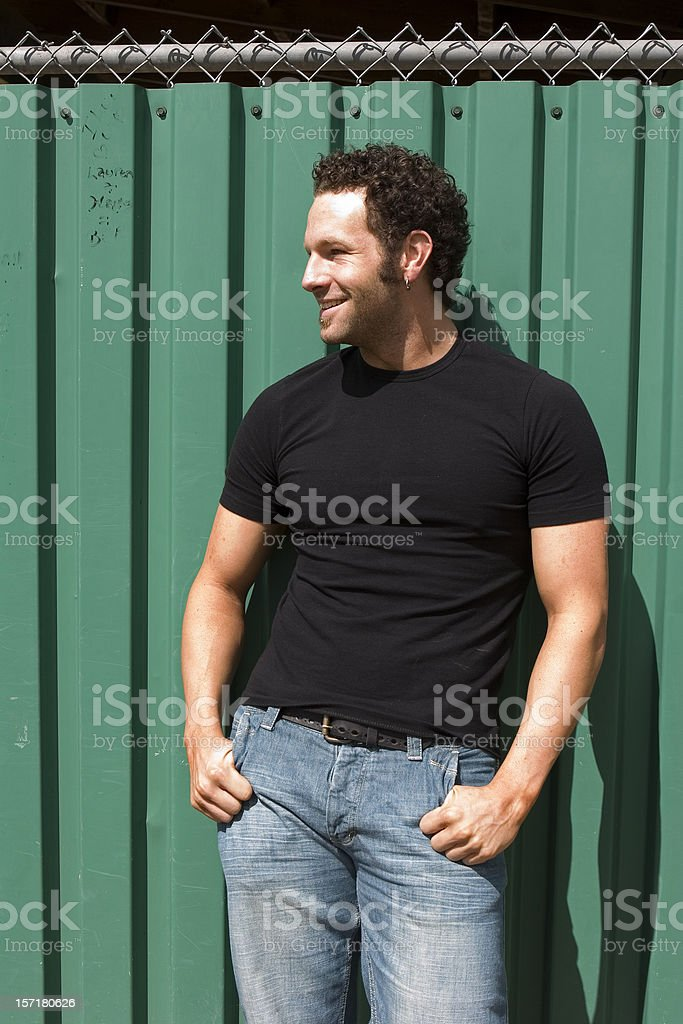 Cool dude stock photo