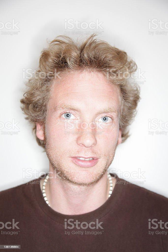 Cool Dude Portrait stock photo