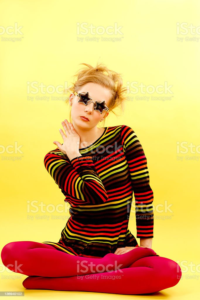 Cool Girl royalty-free stock photo