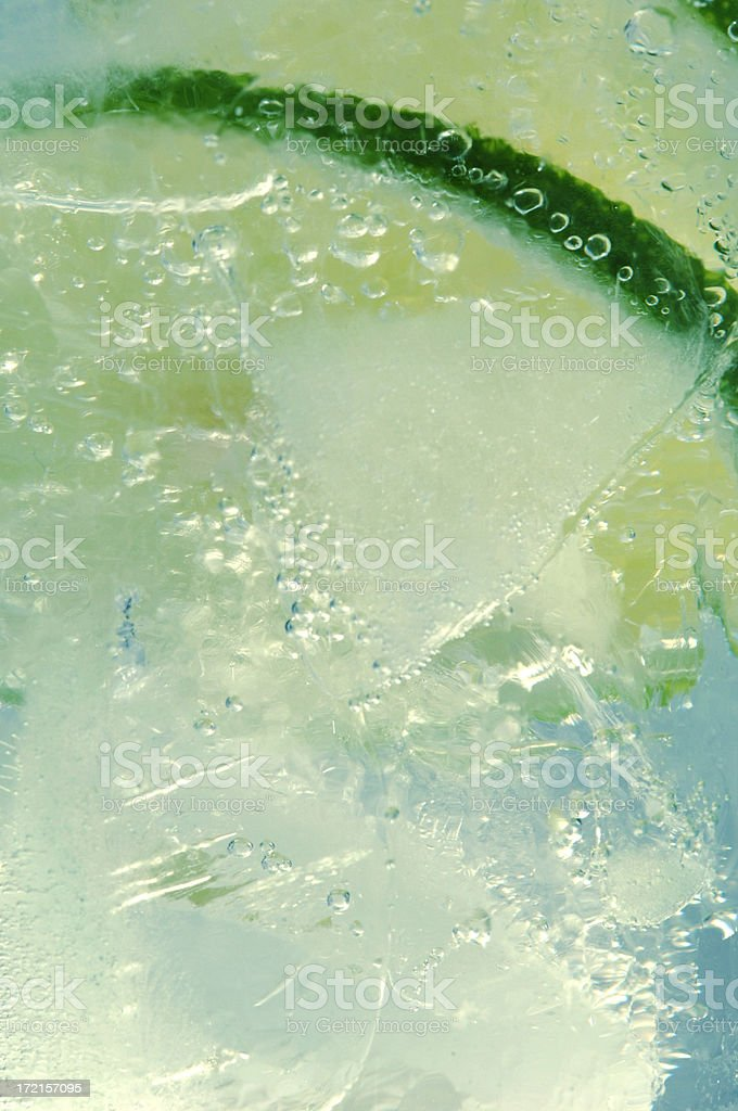 cool glass of water royalty-free stock photo
