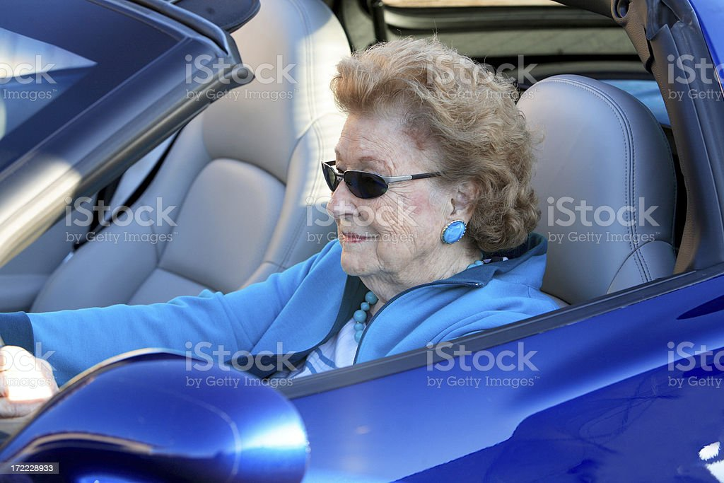 Cool Grandma royalty-free stock photo